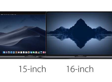 le MacBook Pro 16 pouces sera doté de cadres étroits et sera lancé en septembre