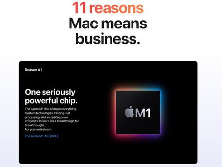 Apple partage 11 raisons pour lesquelles les utilisateurs professionnels devraient choisir les Mac