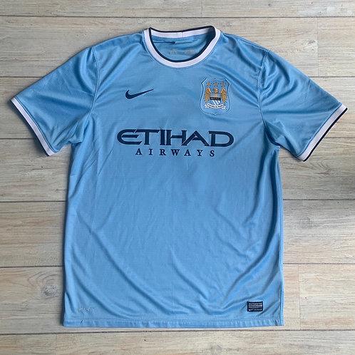 Man City (DAVID SILVA) 2013-14 Size L