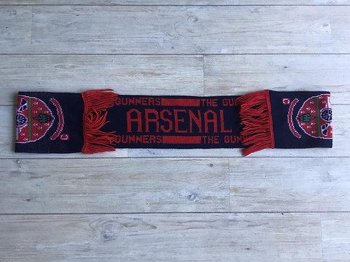 Retro Arsenal scarf