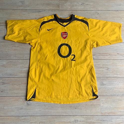 Arsenal AWAY 2005-06 Size XL