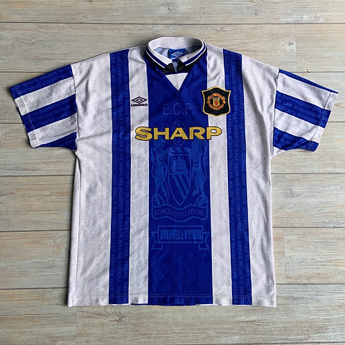Man United THIRD 1994-96 Size XL