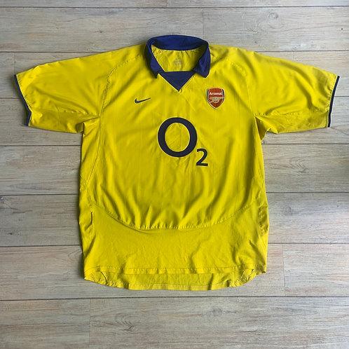 Arsenal AWAY 2003-04 Size XL
