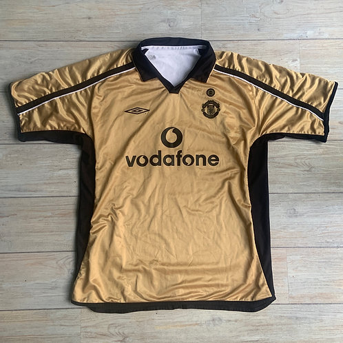 Man United REVERSIBLE 2001-02 Centenary Size XL