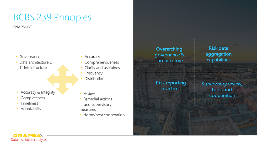 BCBS 239 Principles