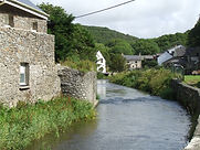 View over Solva River