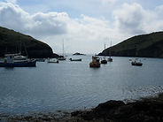 View over Solva Harbour