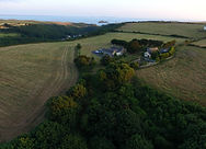 Aerial view of the Old Coach House