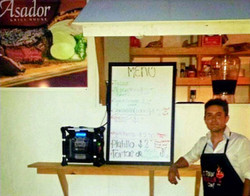 Rive, Owner of Taqueria El Asador when it first opened