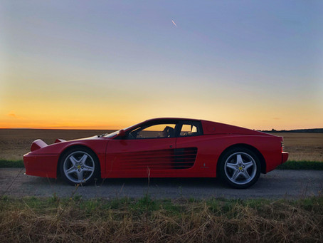 Ferrari 512 TR ... le rouge lui va si bien !
