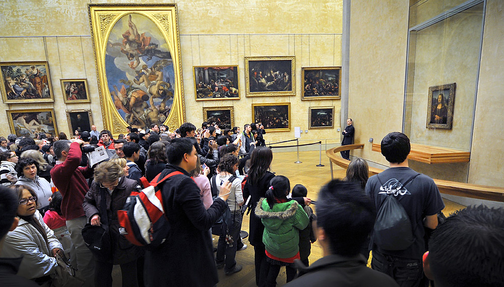 The Louvre Mona Lisa