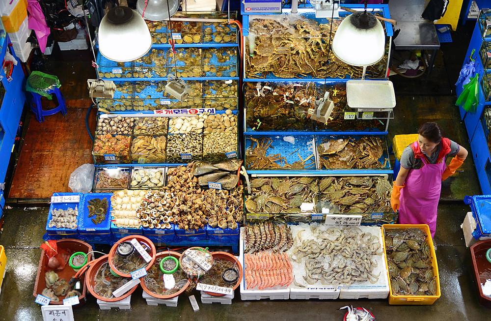 Noryangjin Fish Market Seoul