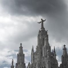 The Church of the Sacred Heart, Tibidabo, Barcelona