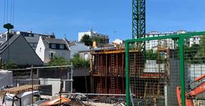 Avancement de chantier YSEO Brest