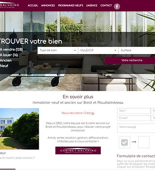 cabinet galvaing immobilier brest