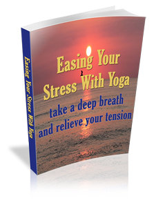 yoga easing stress