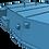 "Thumbnail: 1/192 South Dakota class 16""/45 cal. Turrets with Barrels"