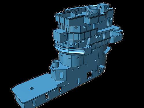 1/700 USS Saratoga CV-3 Island, 1943
