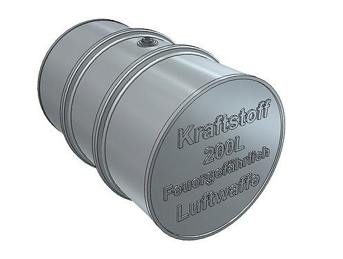 1/24 Fuel Drum, Luftwaffe, 200 liters