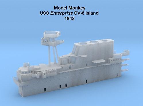 1/200 USS Enterprise CV-6 Island, 1942