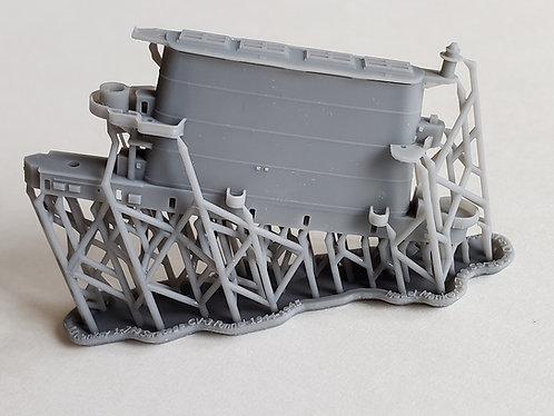 1/700 USS Saratoga CV-3 Funnel, 1944-1945