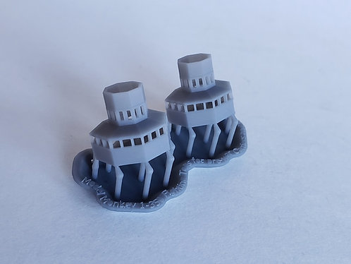 1/350 Fighting Tops for Pre-war Carriers and Cruisers