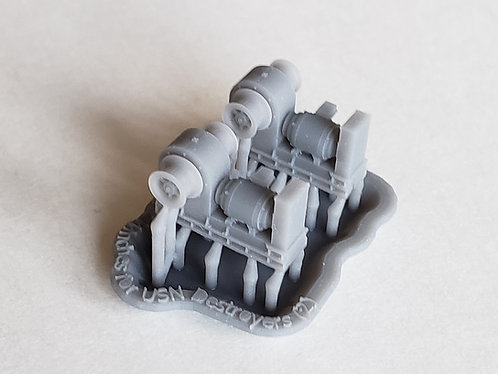 1/125 Boat Winches for handling 26' Whale Boats