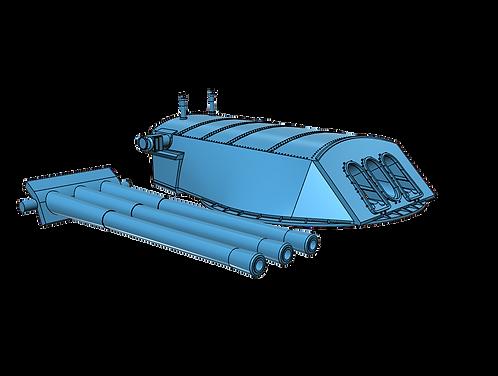 1/144 USS Pennsylvania BB-38 Turret with Barrels