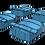 "Thumbnail: 1/720 HMS Hood 15"" Turrets"
