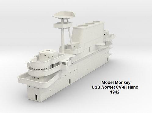 1/144 USS Hornet CV-8 Island, 1942