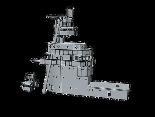 1/700 USS Saratoga CV-3 Island, 1933-1935