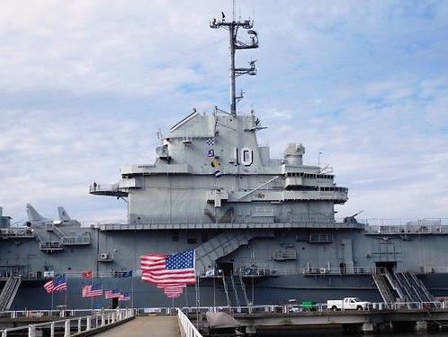 1/530 USS Yorktown CVS-10 Island, 1968-1970