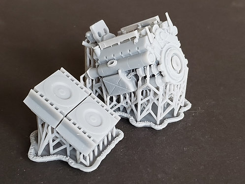 1/25 Tiger and Panther Maybach HL230 P30 Motor
