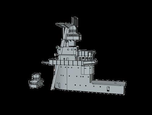 1/700 USS Lexington CV-2 Island, 1936-1940