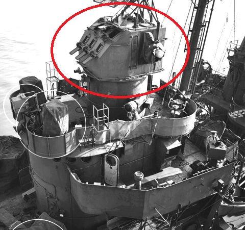 "1/720 Mk.37 Fire Control Directors, ""Angle-back"""