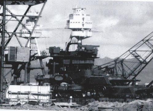 1/200 USS Arizona BB-39 Superstructure, December 7, 1941