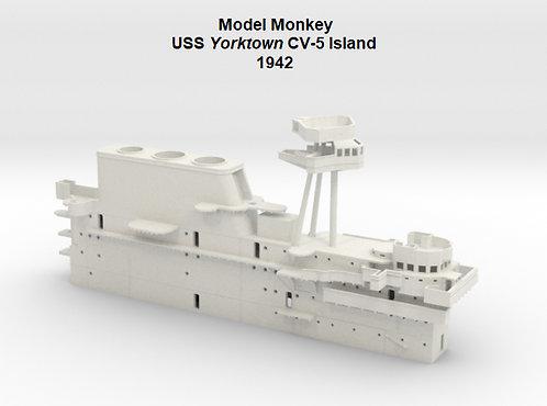1/144 USS Yorktown CV-5 Island, 1942