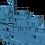 Thumbnail: 1/200 USS Lexington CV-16 Island, May-December 1945