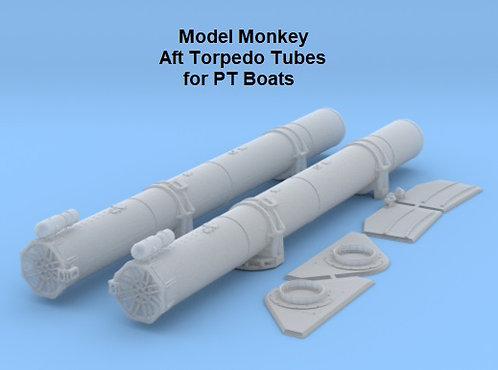 1/48 Aft Torpedo Tubes for Elco PT Boats