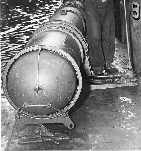 1/48 PT Boat Torpedo Warhead Inserts - set of 4