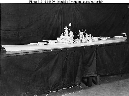 "1/700 Montana Class 16""/50 cal. Turrets with Barrels (set of 4)"