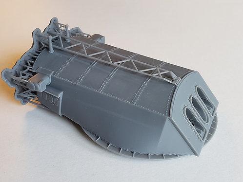 1/96 USS Arizona BB-39 Turret with Barrels