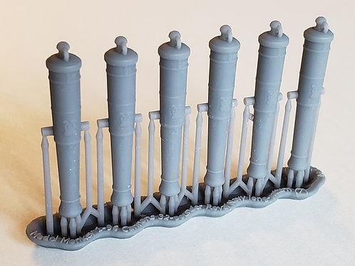 "1/96 Royal Navy 32-pounder Cannons, Blomefield 1790 ""long pattern"""