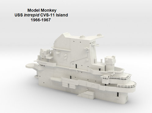 1/144 USS Intrepid CVS-11 Island, 1966-1967 (Vietnam War)