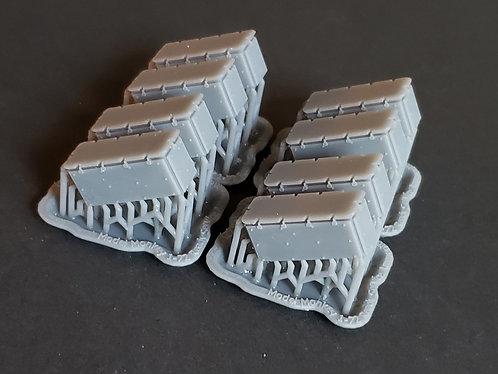 1/72 20mm Oerlikon Ready Service Ammunition Lockers