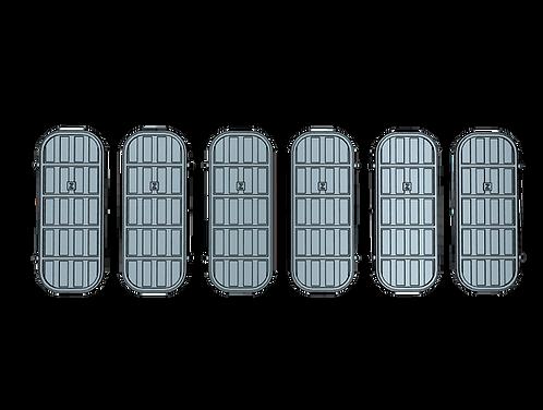 """1/72 Ship's Doors, US Navy, Set E, 4-bar, Condition """"Z"""""""