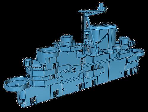 1/525 USS Hornet CV-12 Island, November 1943 - June 1945