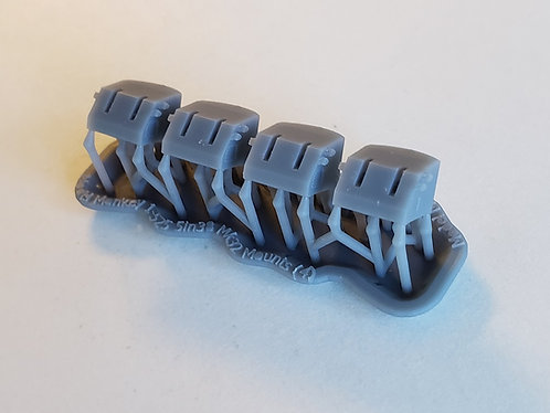 """1/525 5""""/38 Mk.32 Mounts for Aircraft Carriers"""