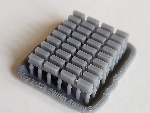 1/350 Ready Service Ammunition Lockers for 20mm Oerlikon Cannons