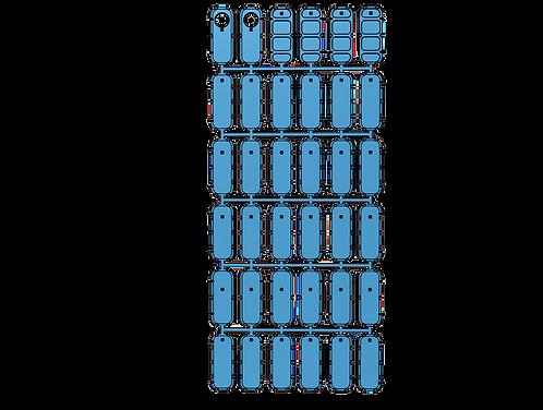 1/144 Ship's Doors, US Navy type (set of 36)